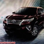 2016 Toyota Fortuner front brochure leaked