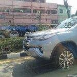 2016 Toyota Fortuner front spied Thailand roads