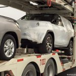 2016 Toyota Fortuner front spied on transporter