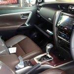 2016 Toyota Fortuner interior spyshot