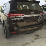 2016 Toyota Fortuner rear leaked spyshot