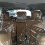 2016 Toyota Fortuner rear seats spied