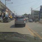 2016 Toyota Fortuner rear spied Thailand roads