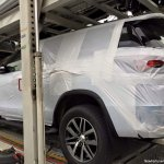 2016 Toyota Fortuner spied on transporter