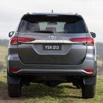 2016 Toyota Fortuner taillights  rear revealed Australian spec