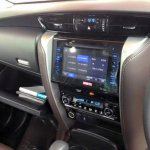 2016 Toyota Fortuner touchscreen display spied