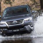 2016 Toyota Fortuner water wading revealed Australian spec