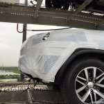 2016 Toyota Fortuner wheel spied on transporter