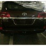 2016 Toyota Land Cruiser facelift rear revealed
