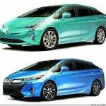 2016 Toyota Prius leaked