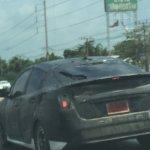 2016 Toyota Prius rear quarter Thailand spied
