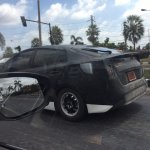 2016 Toyota Prius side Thailand spied