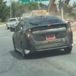 2016 Toyota Prius taillights Thailand spied