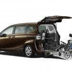 2016 Toyota Sienta wheelchair-adapted model unveiled in Japan