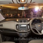 2017 Chevrolet Spin dashboard unveiled in Delhi
