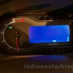 2017 Chevrolet Spin instrument cluster unveiled in Delhi