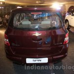 2017 Chevrolet Spin rear unveiled in Delhi