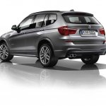 BMW X3 xDrive 30d M Sport rear