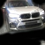 BMW X5M front fascia India spied