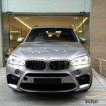 BMW X5M front snapped India