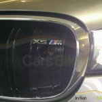 BMW X5M grille snapped India