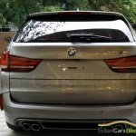 BMW X5M rear snapped India