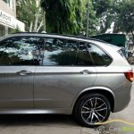 BMW X5M side snapped India
