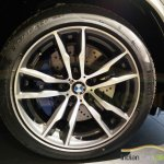 BMW X5M wheel snapped India