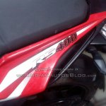 Bajaj Pulsar RS400 logo spied