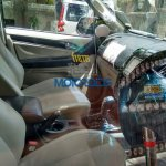 Chevrolet Trailblazer dashboard India spied
