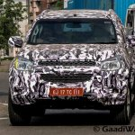 Chevrolet Trailblazer front India spied again