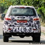 Chevrolet Trailblazer rear India spied again