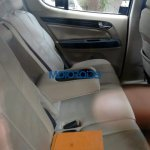 Chevrolet Trailblazer rear seats India spied