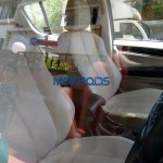 Chevrolet Trailblazer seats India spied