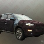 Chinese-spec 2016 Hyundai Tucson front three quarter spotted testing