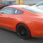 Ford Mustang GT India spied