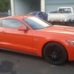 Ford Mustang GT side India spied