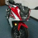 Honda CBR650F India spied