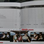 Hyundai Creta brochure feature list