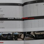 Hyundai Creta features brochure