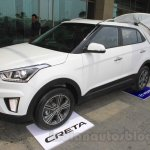 Hyundai Creta front three quarter