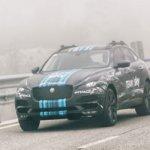Jaguar F-Pace front quarter Team Sky