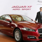 Jaguar XF Aero-sport & Mr. Rohit Suri, President, Jaguar Land Rover India