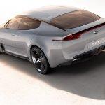 Kia GT concept rear three quarters left