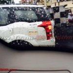 Mahindra XUV500 petrol rear end snapped in Chennai