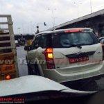 Mahindra XUV500 petrol rear quarter snapped in Chennai