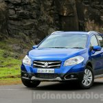 Maruti S-Cross front quarter Review