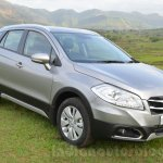Maruti S-Cross front three quarter Review