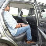 Maruti S-Cross rear legroom Review