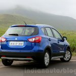Maruti S-Cross rear quarter Review